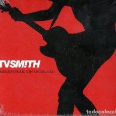 CDs de Música: TV SMITH - MISINFORMATION OVERLOAD. Lote 215015608