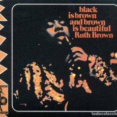 CDs de Música: RUTH BROWN - BLACK IS BROWN AND BROWN IS BEAUTIFUL. Lote 286243123