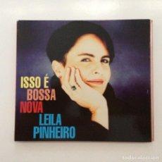 CDs de Música: LEILA PINHEIRO – ISSO É BOSSA NOVA BRASIL 1994. Lote 215063535