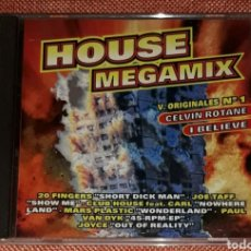 CDs de Música: RECOPILATORIO HOUSE MEGAMIX (KOKA MUSIC). Lote 215093748