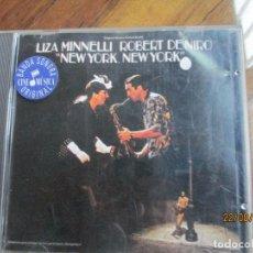 CDs de Música: LIZA MINNELLI & ROBERT DE NIRO ?– NEW YORK, NEW YORK (ORIGINAL MOTION PICTURE SCORE). Lote 215118210