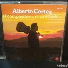 CDs de Música: ALBERTO CORTEZ EL COMPOSITOR...EL CANTANTE CD ALBUM 1996 HISTORIA DEL POP ESPAÑOL PEPETO. Lote 215125631