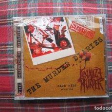 CDs de Música: CD - THRASH METAL - LEGALIZE MURDER (THE MURDER DIARIES) - 2014 - NAVARRA - PRECINTADO. Lote 215141592