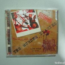 CDs de Música: CD - THRASH METAL - LEGALIZE MURDER (THE MURDER DIARIES) - 2014 - NAVARRA. Lote 215142000