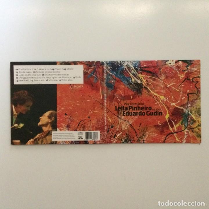 CDs de Música: Leila Pinheiro E Eduardo Gudin – Pra Iluminar Brasil 2009 - Foto 2 - 215155950