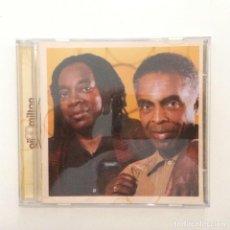 CDs de Música: GILBERTO GIL & MILTON NASCIMENTO – GIL & MILTON BRASIL 2000. Lote 215160822