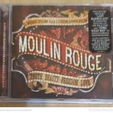 CDs de Música: B.S.O. MOULIN ROUGE (MUSIC FROM BAZ LUHRMANN'S FILM) CD - DAVID BOWIE, PINK, CHRISTINA AGUILERA,. Lote 215176323