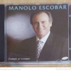 CDs de Música: MANOLO ESCOBAR (TIEMPO AL TIEMPO) CD 1994. Lote 215176872