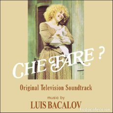 CDs de Música: CHE FARE? - LUIS BACALOV. Lote 227660805