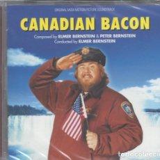 CDs de Musique: CANADIAN BACON - ELMER BERNSTEIN. Lote 224994455