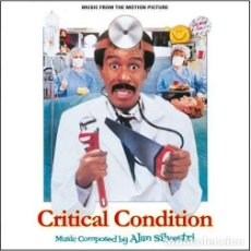 CDs de Música: ALAN SILVESTRI - CRITICAL CONDITION + SUMMER RENTAL. Lote 261934905