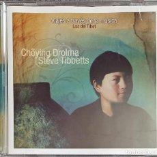 CDs de Música: STEVE TIBBETTS: CHÖYING DROLMA. Lote 215203298