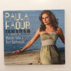 CDs de Música: PAULA FAOUR – MÚSICA DE MARCOS VALLE E BURT BACHARACH BRASIL 2009. Lote 215244492