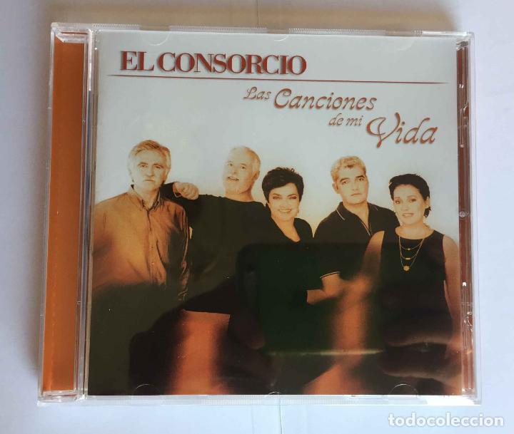 CDs de Música: CD: EL CONSORCIO (Las canciones de mi vida) (Epic-Sony, 2000). Con encarte. ¡Coleccionista! - Foto 2 - 215246345