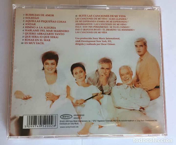CDs de Música: CD: EL CONSORCIO (Las canciones de mi vida) (Epic-Sony, 2000). Con encarte. ¡Coleccionista! - Foto 3 - 215246345