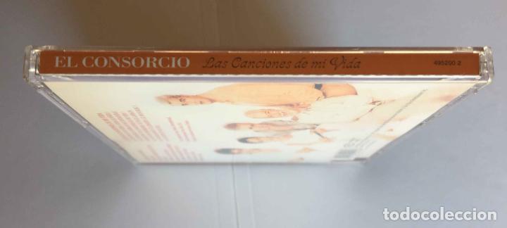 CDs de Música: CD: EL CONSORCIO (Las canciones de mi vida) (Epic-Sony, 2000). Con encarte. ¡Coleccionista! - Foto 4 - 215246345