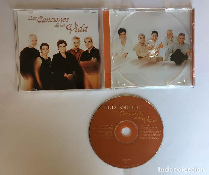 CDs de Música: CD: EL CONSORCIO (Las canciones de mi vida) (Epic-Sony, 2000). Con encarte. ¡Coleccionista! - Foto 5 - 215246345