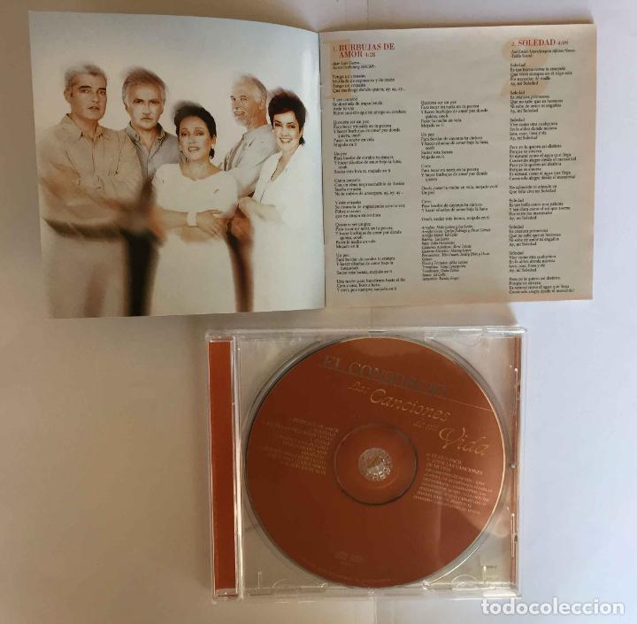 CDs de Música: CD: EL CONSORCIO (Las canciones de mi vida) (Epic-Sony, 2000). Con encarte. ¡Coleccionista! - Foto 6 - 215246345