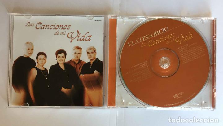 CDs de Música: CD: EL CONSORCIO (Las canciones de mi vida) (Epic-Sony, 2000). Con encarte. ¡Coleccionista! - Foto 7 - 215246345