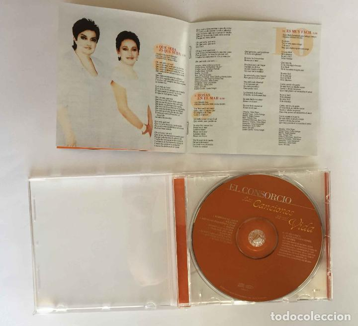 CDs de Música: CD: EL CONSORCIO (Las canciones de mi vida) (Epic-Sony, 2000). Con encarte. ¡Coleccionista! - Foto 8 - 215246345