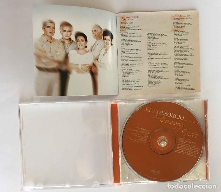 CDs de Música: CD: EL CONSORCIO (Las canciones de mi vida) (Epic-Sony, 2000). Con encarte. ¡Coleccionista! - Foto 9 - 215246345