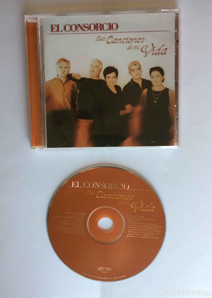 CD: EL CONSORCIO (LAS CANCIONES DE MI VIDA) (EPIC-SONY, 2000). CON ENCARTE. ¡COLECCIONISTA! (Música - CD's Otros Estilos)