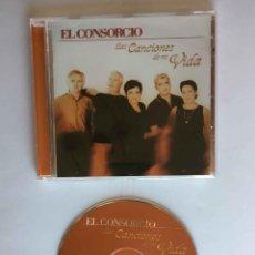 CDs de Música: CD: EL CONSORCIO (LAS CANCIONES DE MI VIDA) (EPIC-SONY, 2000). CON ENCARTE. ¡COLECCIONISTA!. Lote 215246345