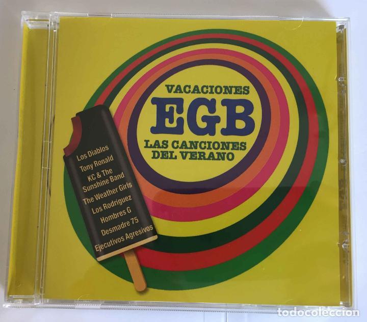 CDs de Música: CD: VACACIONES EGB (Las canciones del verano) (Warner, 2018). Con folleto. ¡Coleccionista! - Foto 2 - 215247308