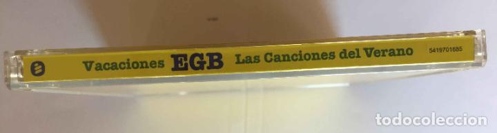 CDs de Música: CD: VACACIONES EGB (Las canciones del verano) (Warner, 2018). Con folleto. ¡Coleccionista! - Foto 4 - 215247308