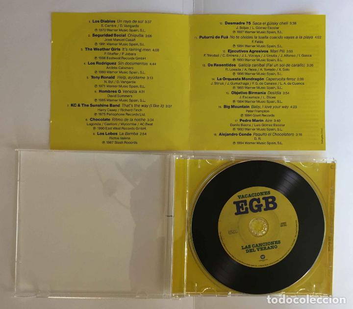 CDs de Música: CD: VACACIONES EGB (Las canciones del verano) (Warner, 2018). Con folleto. ¡Coleccionista! - Foto 6 - 215247308