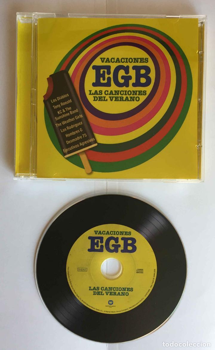 CD: VACACIONES EGB (LAS CANCIONES DEL VERANO) (WARNER, 2018). CON FOLLETO. ¡COLECCIONISTA! (Música - CD's Otros Estilos)