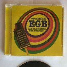 CDs de Música: CD: VACACIONES EGB (LAS CANCIONES DEL VERANO) (WARNER, 2018). CON FOLLETO. ¡COLECCIONISTA!. Lote 215247308