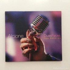 CDs de Música: ALCIONE – DUAS FACES (JAM SESSION) BRASIL 2011. Lote 215248535