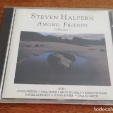 CDs de Música: STEVEN HALPERN - AMONG FRIENDS COLLECTION I - CD 1987. Lote 215263448