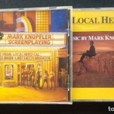 CDs de Música: MARK KNOPFLER LOTE 2 CD (MUY BUEN ESTADO) LOCAL HERO - CAL - THE PRINCESS BRIDE - LAST EXIT BROOKLYN. Lote 215277251