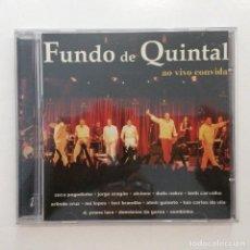 CDs de Música: FUNDO DE QUINTAL – AO VIVO CONVIDA BRASIL 2004. Lote 215281877