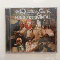 CDs de Música: FUNDO DE QUINTAL / O QUINTAL DO SAMBA BRASIL 2007. Lote 215282935