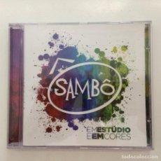 CDs de Música: SAMBÔ – EM ESTÚDIO E EM CORES BRASIL 2014. Lote 215285243