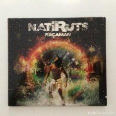 CDs de Música: NATIRUTS – RAÇAMAN BRASIL 2009. Lote 215292173
