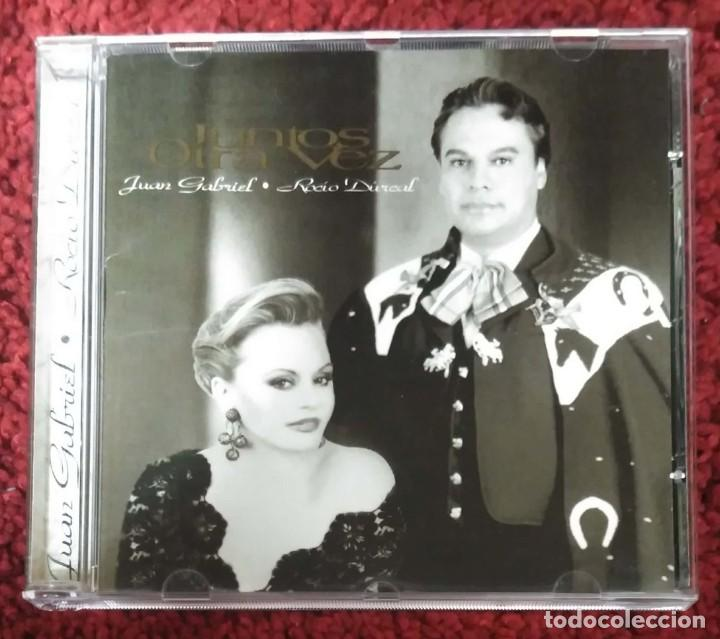 JUAN GABRIEL & ROCIO DURCAL (JUNTOS OTRA VEZ) CD 1997 (Música - CD's Melódica )