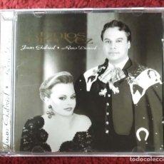 CDs de Música: JUAN GABRIEL & ROCIO DURCAL (JUNTOS OTRA VEZ) CD 1997. Lote 263181720