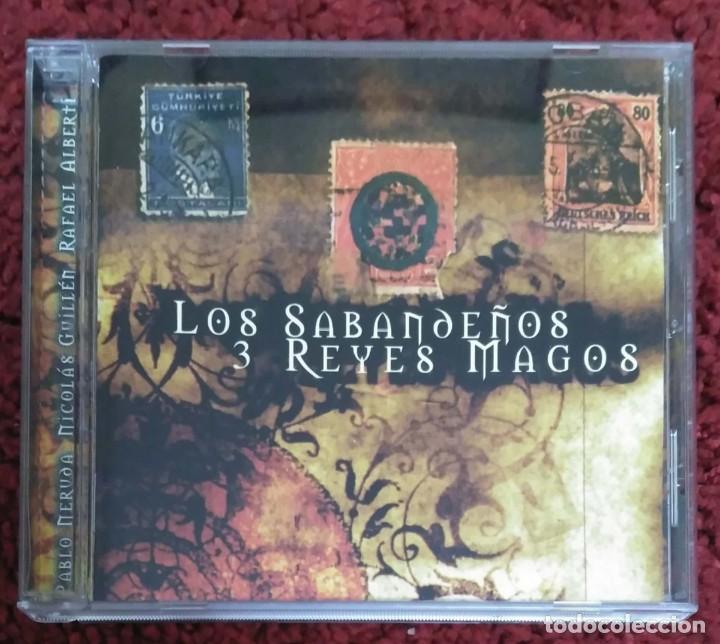 LOS SABANDEÑOS (LOS 3 REYES MAGOS) CD 2000 CON VICTOR MANUEL, Mª DOLORES PRADERAS Y HORACIO GUARANI (Música - CD's Melódica )