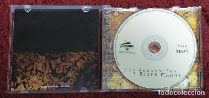 CDs de Música: LOS SABANDEÑOS (LOS 3 REYES MAGOS) CD 2000 Con Victor Manuel, Mª Dolores Praderas y Horacio Guarani - Foto 3 - 215333547