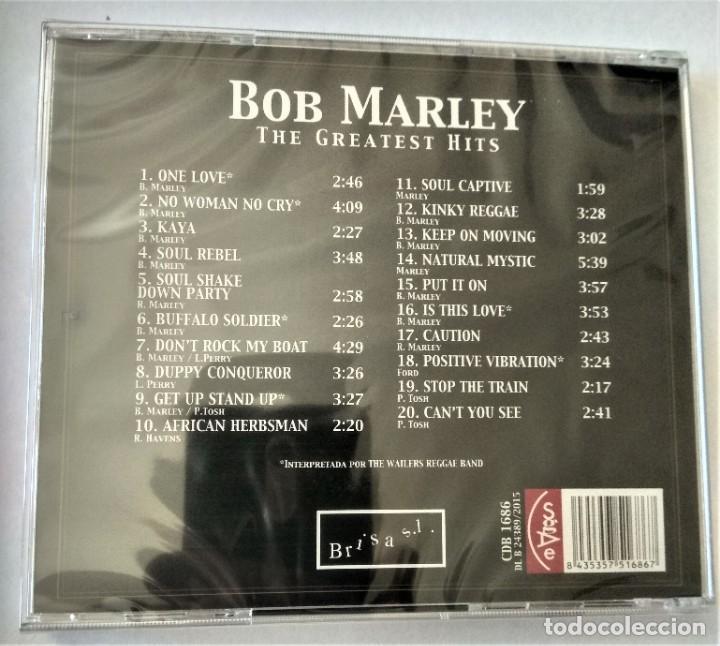 CDs de Música: Bob Marley - The greatest hits (original songs) Precintado - Foto 2 - 215342867