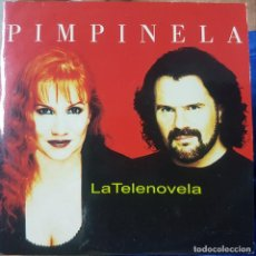CDs de Música: PIMPINELA - LA TELENOVELA - CD PROMOCIONAL - 2000 DE SU DISCO CORAZÓN GITANO. Lote 215368022