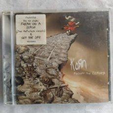 CDs de Música: KORN - FOLLOW THE LEADER (CD, ALBUM) (EPIC, IMMORTAL RECORDS) (D:VG+). Lote 215377420
