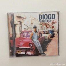 CDs de Música: DIOGO NOGUEIRA – AO VIVO EM CUBA BRASIL 2012. Lote 215385021