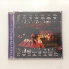 CDs de Música: VARIOUS – CASA DA BOSSA AO VIVO BRASIL 1997. Lote 215385436