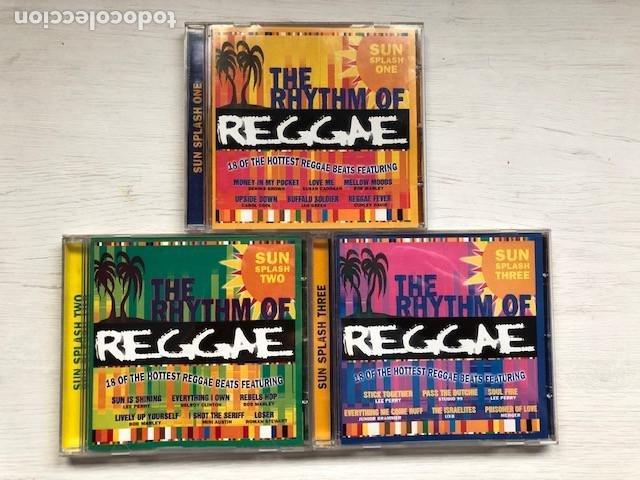 VARIOUS - THE RHYTHM OF REGGAE (3XCD, COMP) (Música - CD's Reggae)