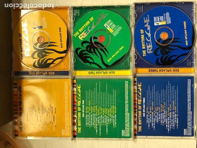 CDs de Música: Various - The Rhythm Of Reggae (3xCD, Comp) - Foto 2 - 215397067